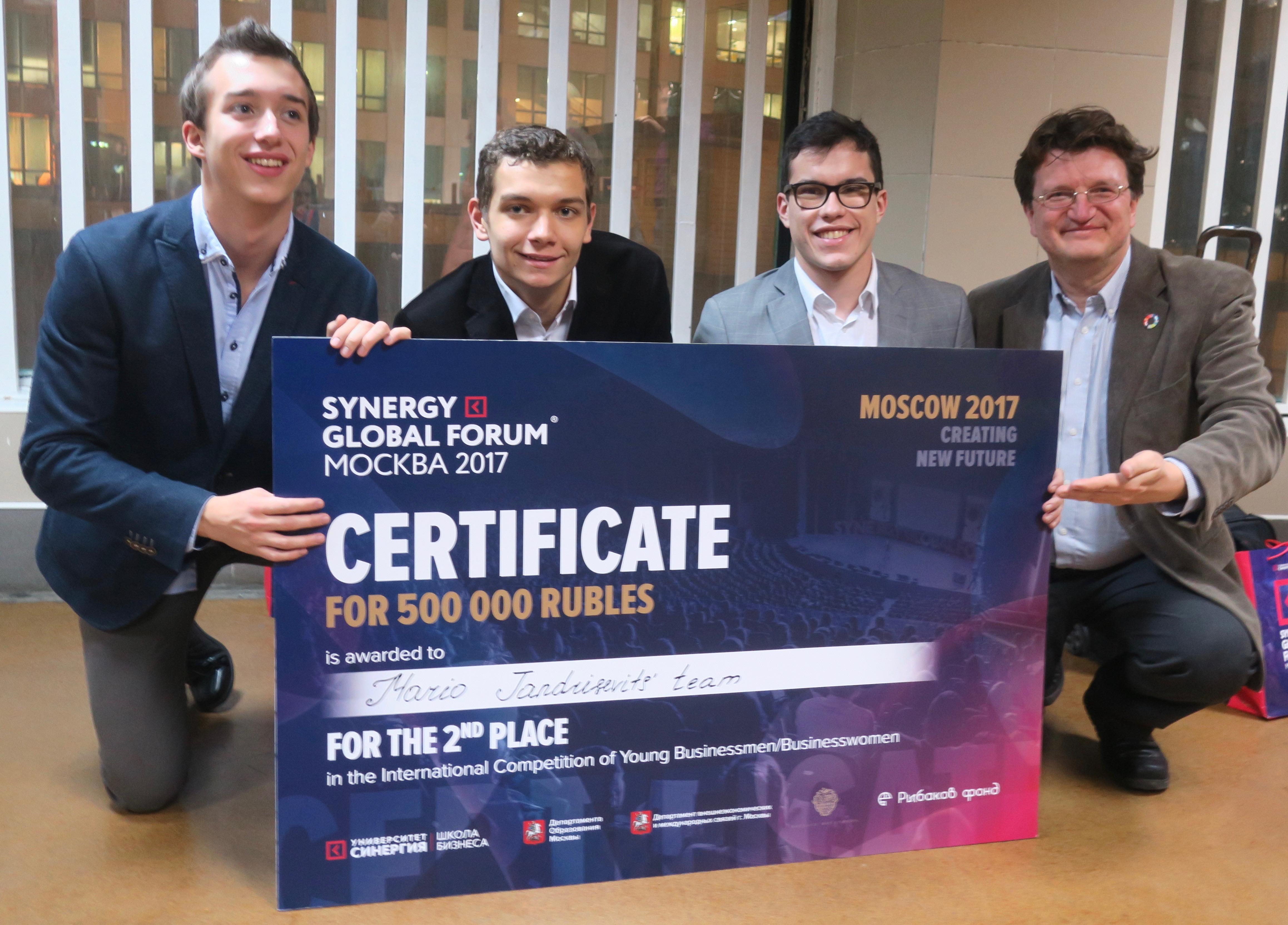 Groundsurfing – österreichische Schüler punkten bei einer internationalen Entrepreneurship Challenge in Russland